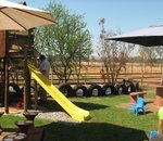Beautiful venues with children's playground on bush-veld smallholding only 5km from Zambezi off-ramp, just of Pretoria. Ideal for kids parties or any other function.