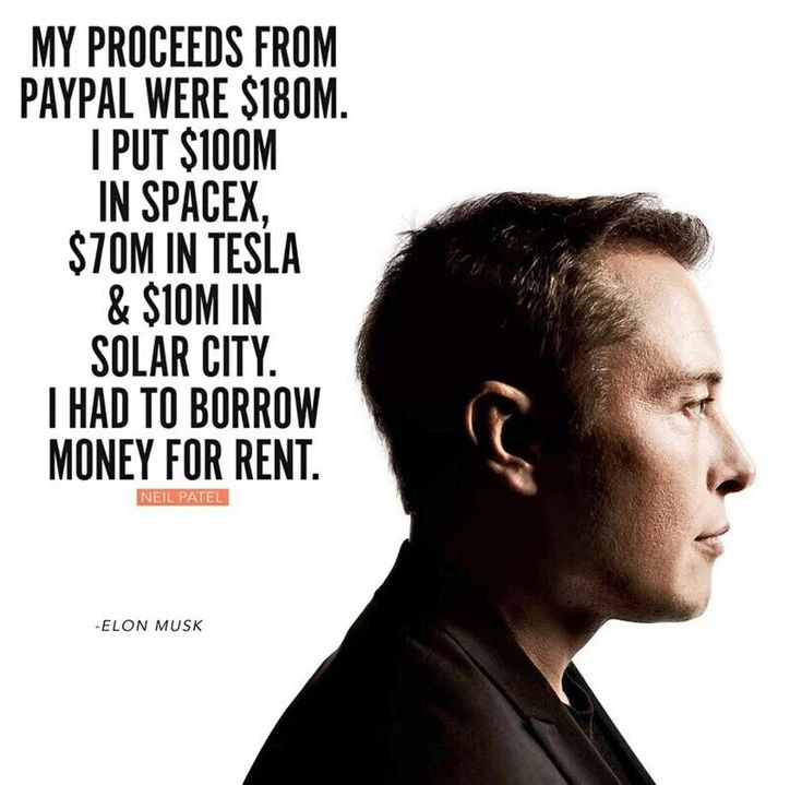 Elon Musk  To be a great entrepreneur you have to hire great tech talent. Our 15+ years of experience can help you. Contact us at carlos@recruitingforgood.com