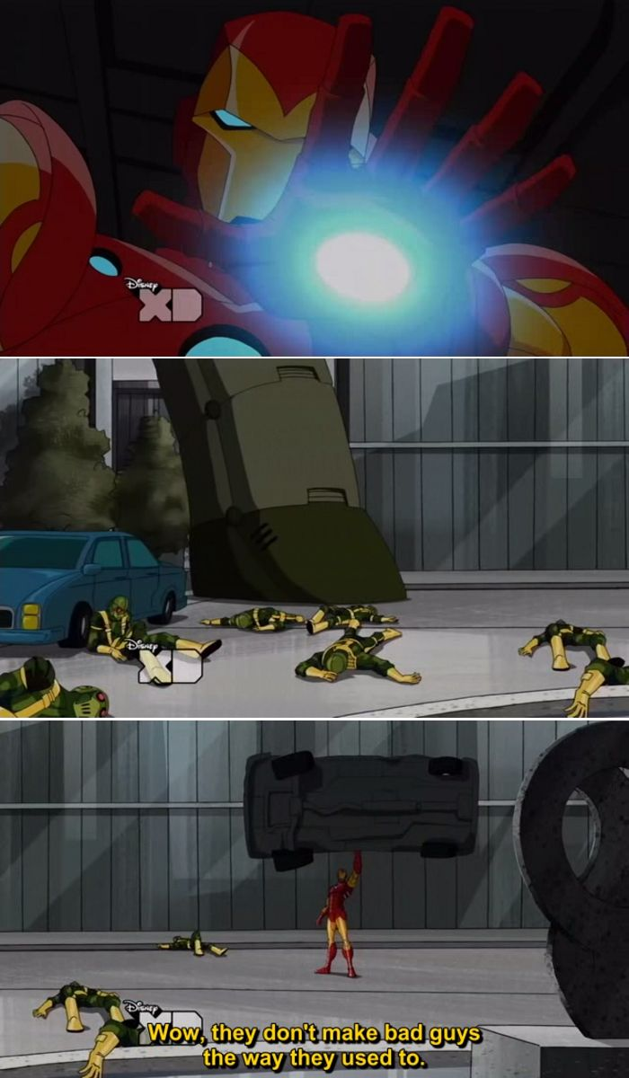 Quotes from The Avengers Earth's Mightiest Heroes Animated Series