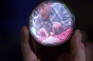 """In Threat Level Midnight, Michael recreates a scene from Armageddon. 