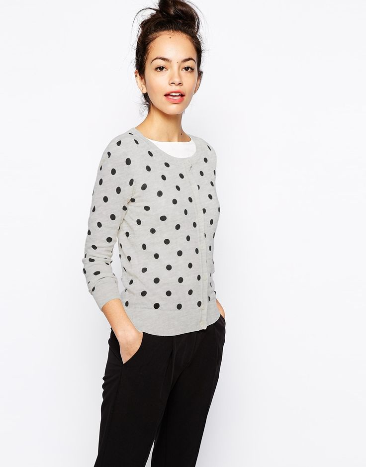 New Look Polka Dot Cardigan