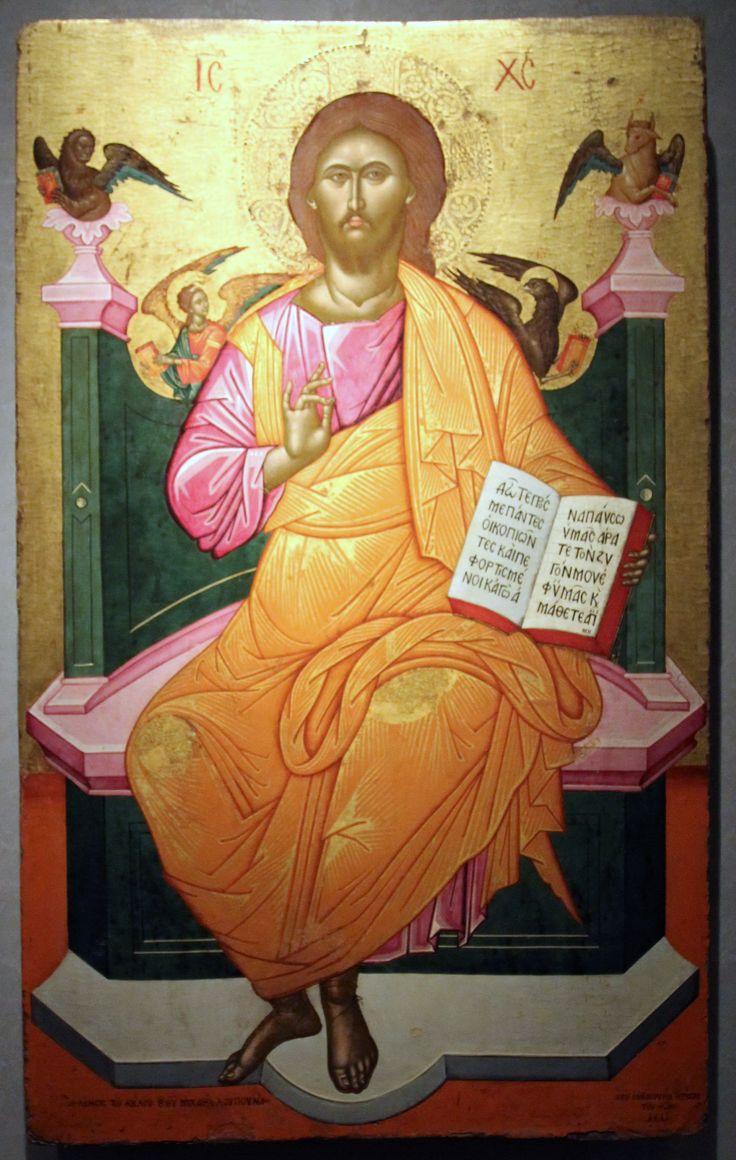 Τζάνες Εμμανουήλ-Christ enthroned, 1664.jpg (2266×3572)