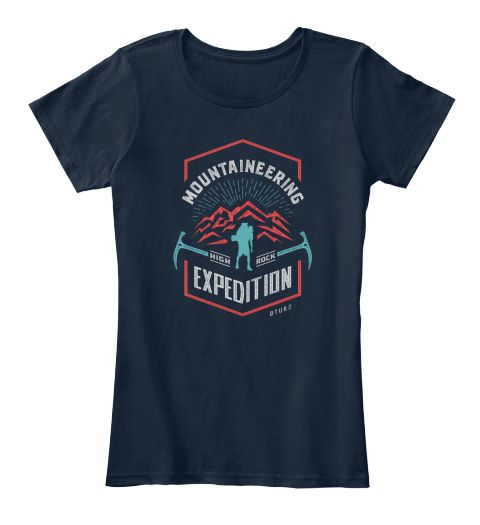 Mountaineering High Rock Expedition Dture New Navy T-Shirt Front