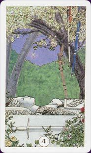 Robin Wood Tarot is rich in Pagan symbolism. This deck is a good choice for beginners.