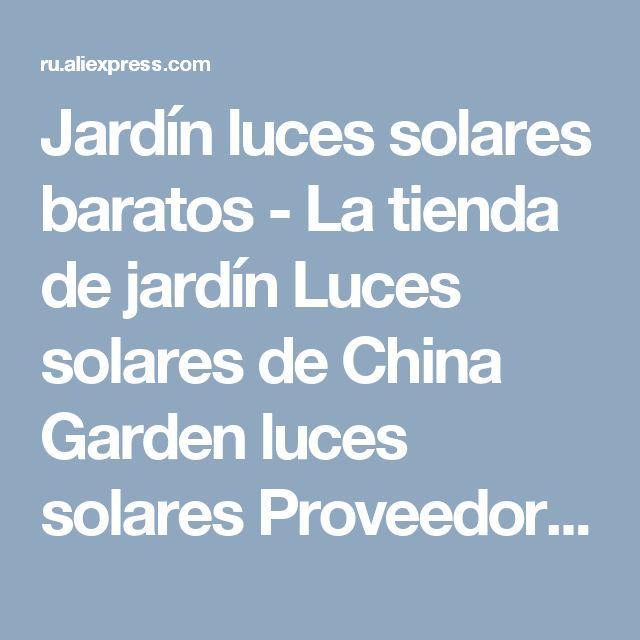 Die besten 25 luces solares jardin ideen auf pinterest - Luces solares jardin ...
