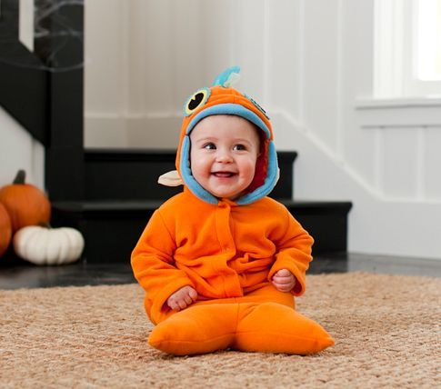 Baby Goldfish Costume | Pottery Barn Kids    Cant wait to see my little handsome man in this!