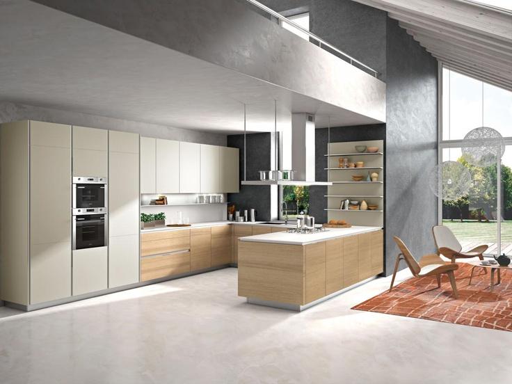 U shape kitchen - snaidero_orange.jpg 1,200×900 pixels