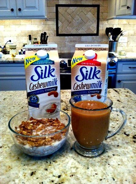$0.75/1 Silk Milk Coupon & Silk Cashewmilk Review. #SilkCashew #spon @LoveMySilk  http://www.addictedtosaving.com/silk-cashewmilk-review/