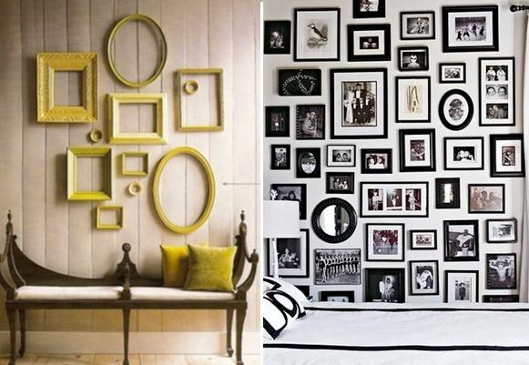 wall frame decor ideas