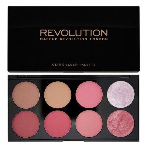 Makeup Revolution Paleta róży SUGAR AND SPICE | TWARZ \ róże do policzków POMYSŁ NA PREZENT TWARZ I CIAŁO \ RÓŻE DO POLICZKÓW | Minti Shop