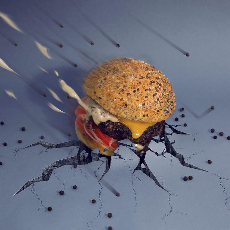 The Pepper. Deuxième des huit burgers de la nouvelle carte du Drugstore Burger House réinterprété par Fat & Furious Burger.À découvrir au Publicis Drugstore.133, Avenue des Champs Élysées, 75008 Paris