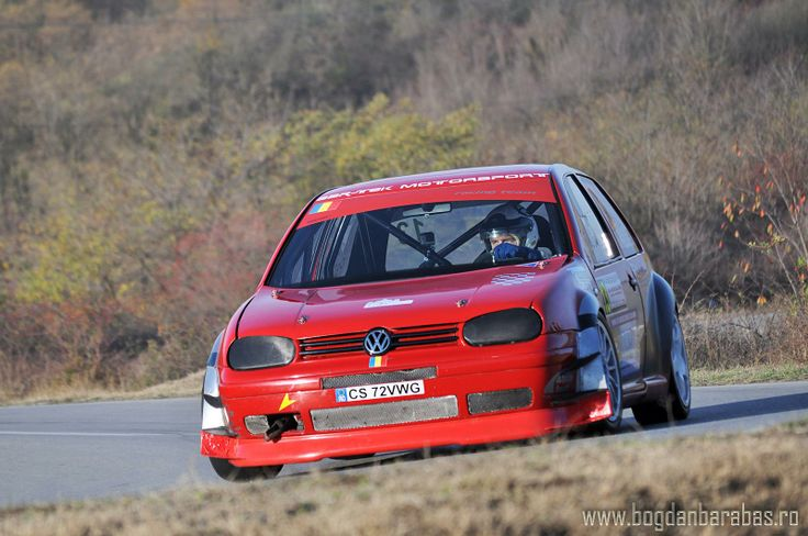 VW Golf Hillclimb car Mircea Padurean, Group H