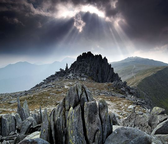 Glyder Fach, Snowdonia, North Wales