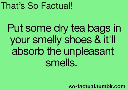 Worth a try..... In someone elses does becuz of course my twinkle toes only ever smell like roses and sunshine ;)