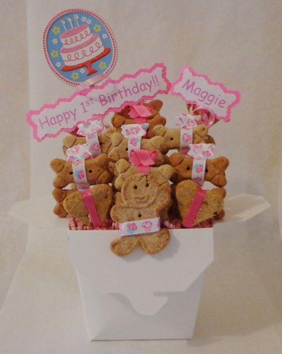 #birthday #dog treat #giftbasket https://www.etsy.com/listing/274648280/birthday-dog-biscuit-treat-dog-gift?ref=listing-shop-header-1