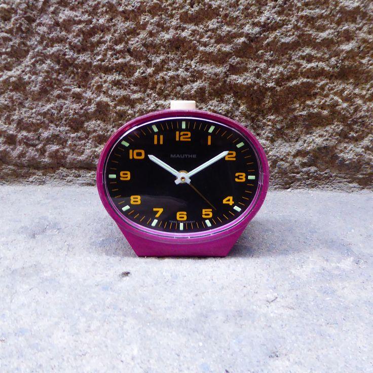 reloj vintage mauthe morado mementosbcn 1