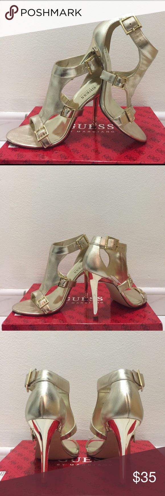 Guess Marciano Pre-owned. Like new. One time use. Guess by Marciano Shoes Heels