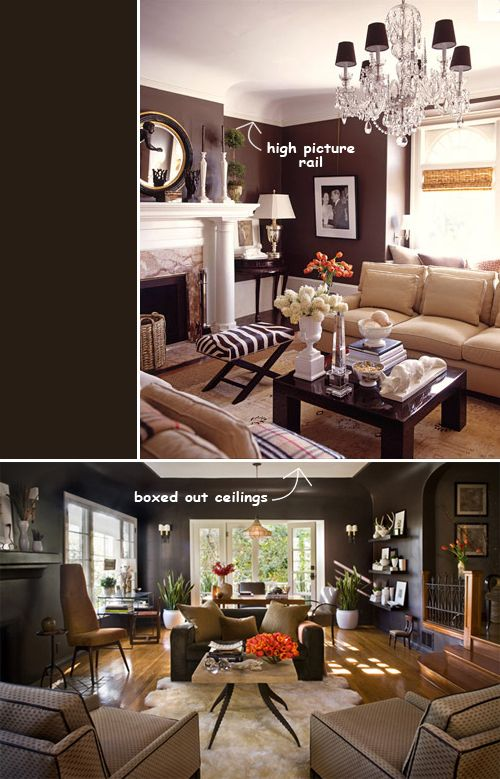 36 best Decorating with Chocolate Brown Walls images on Pinterest