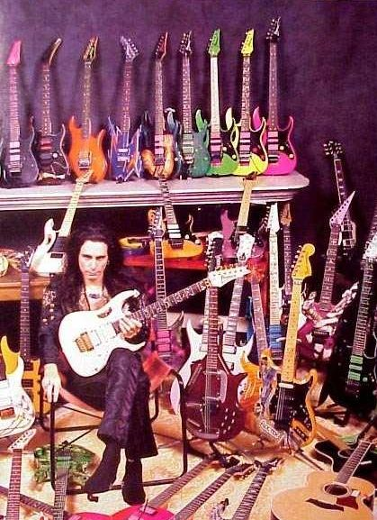 Steve Vai set out on his own from Frank Zappa's band to redefine solo guitar in the 80's.