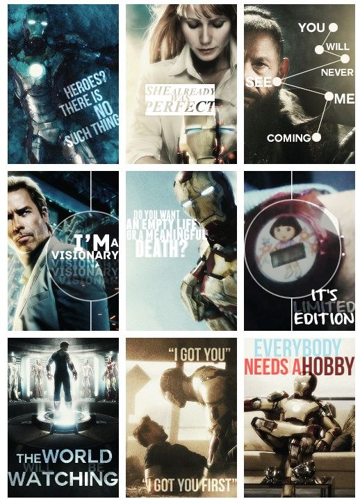 The very best quotes from the Iron Man 3 movie! This movie was so ...