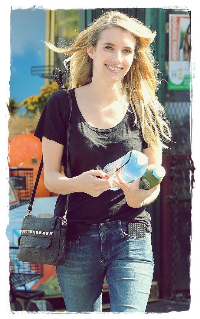 Emma Roberts Street Style 2014