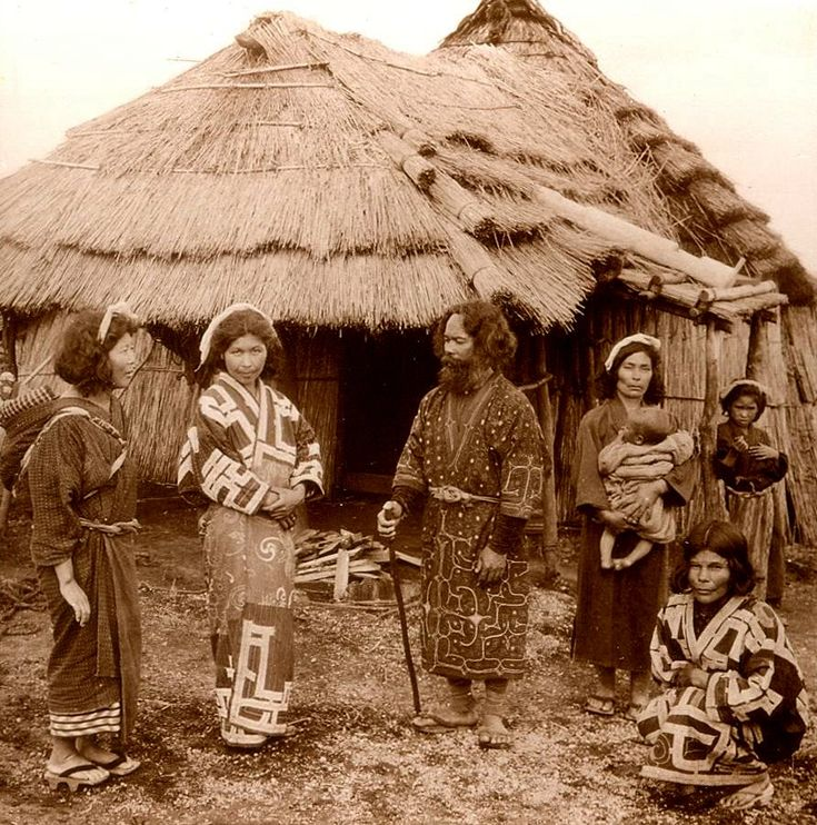 Ainu - the indigenous people of Japan