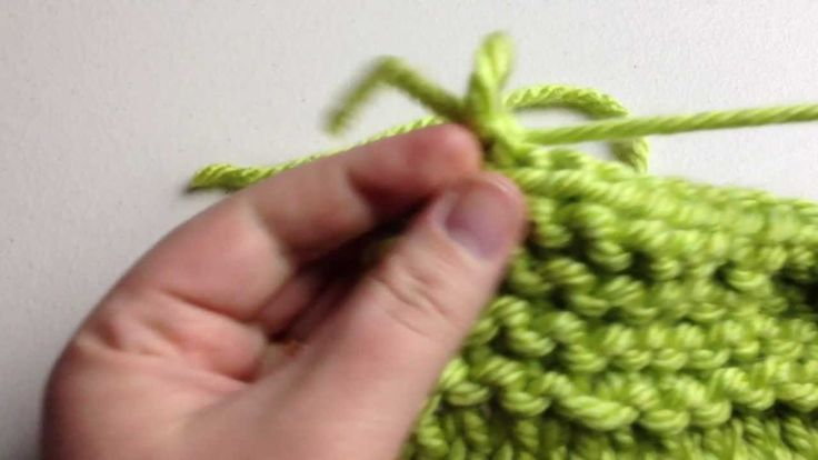 How to Knit - Bind Off Beginner (with closed captions) or cast off