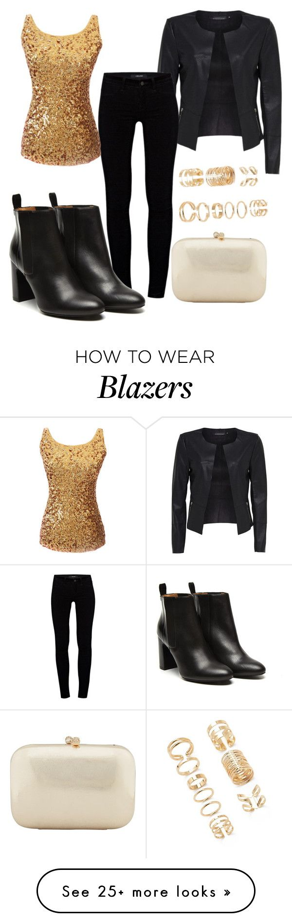 """""""Untitled #262"""" by letiperez01 on Polyvore featuring Forever 21, J Brand, Stephane Kélian and Serpui"""