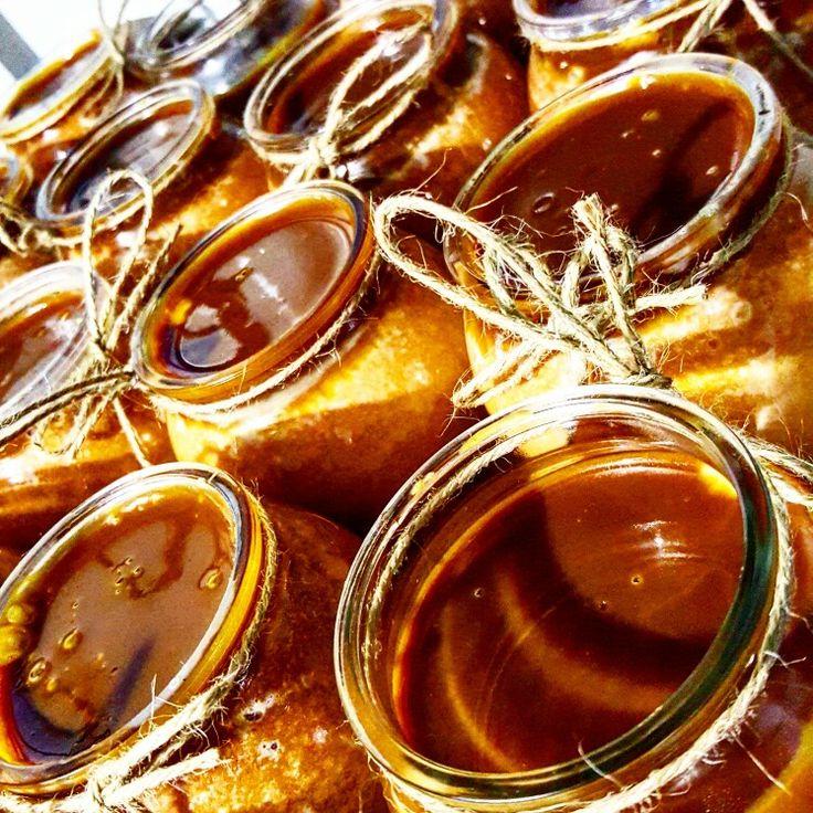 Karamel krokanlı trileçe