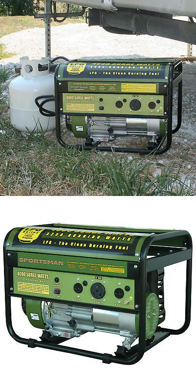 Sportsman Gen4000lp Portable 4000 Watt Propane Generator Rv Ready Generators 33082 Pinterest