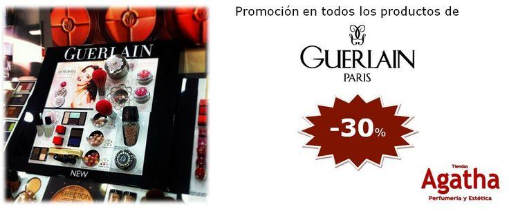 Promoción Guerlain en nuestra Página Web:  ¡Todos los productos con un 30% de descuento! Además, con cada pedido un regalo.