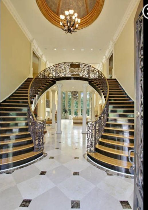 516 best staircase designs images on pinterest stairs for Palace design homes