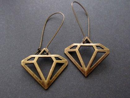 girl's best friend earrings