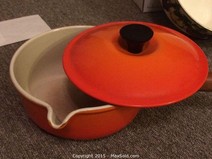 MaxSold - Auction: TewksburyMoving Online Auction -  Le Creuset Set