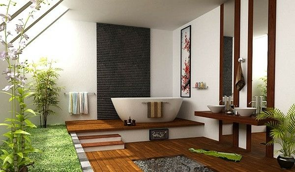 Traumbad Teakholz Und Bambus | Bad | Pinterest | Bambus, Für Sie Und  Badezimmer