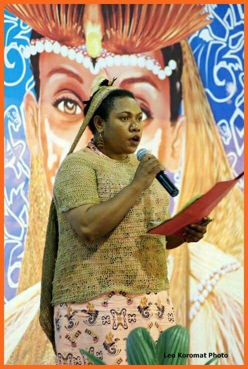 Woman Leader is Papuan  #Mergina