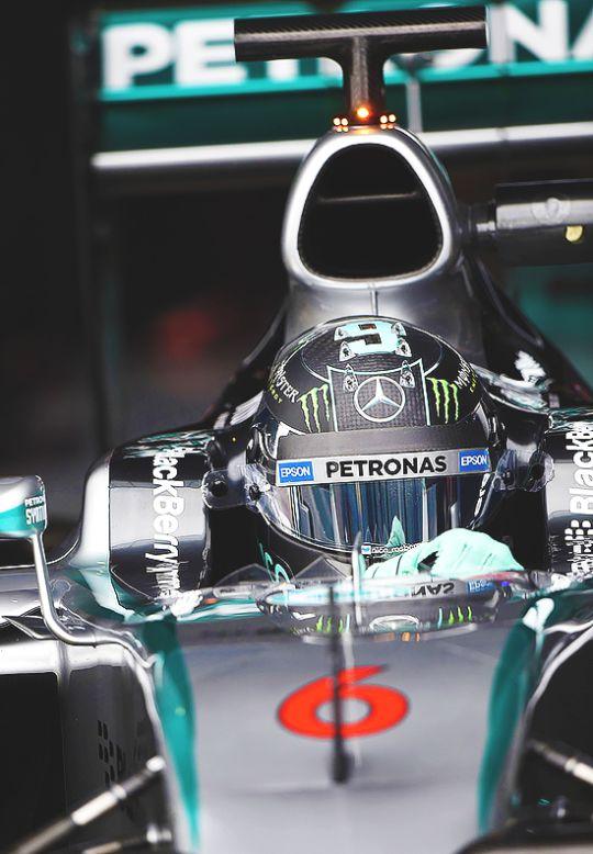 Jerez Winter Testing — Nico Rosberg
