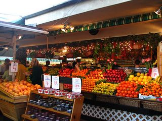 The Original Farmers Market, Los Angeles, CA #ridecolorfully