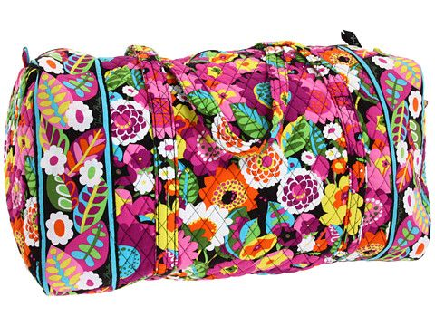 Goft idea. Good for traveling. One for me and the smaller one for Avery. Vera Bradley Luggage Large Duffel.