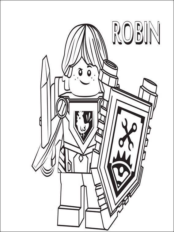 lego nexo knights 1 ausmalbilder für kinder malvorlagen