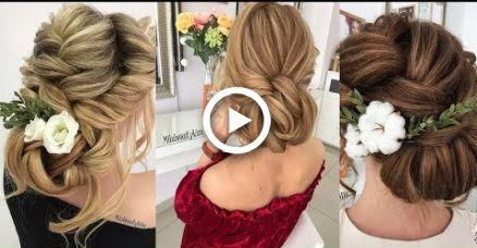 wedding hairstyles tutorials compilation ||  Bridal hair tutorial  ||  wedding u…