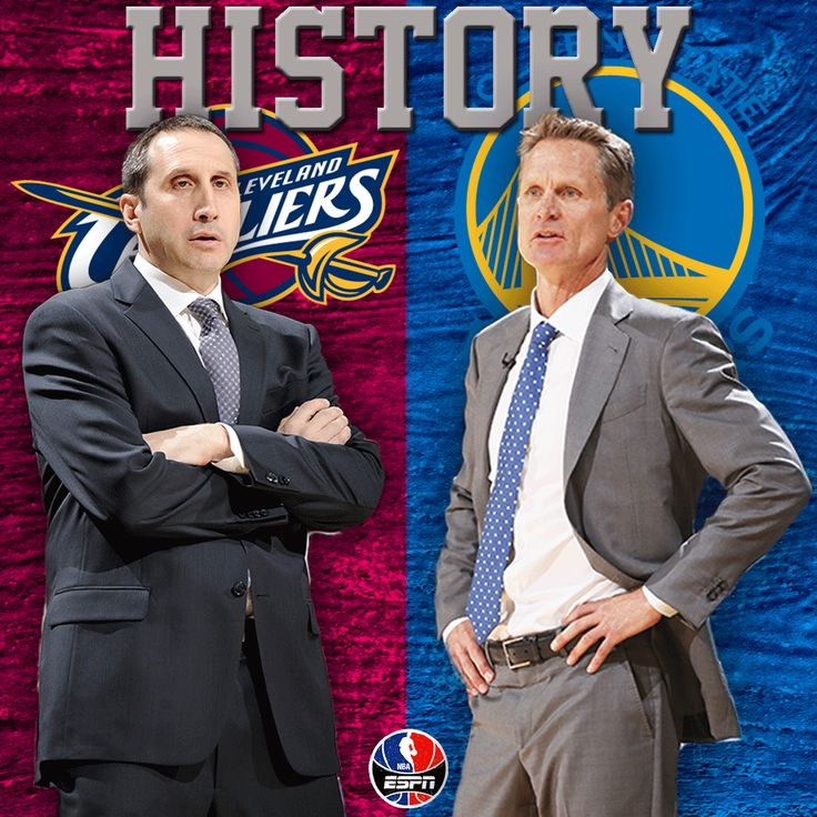 Steve Kerr & David Blatt will face off against each other. Only other time 2 rookie coaches met in Finals was 1946.