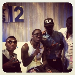Wizkid, Acehood, Sarkodie and Sway