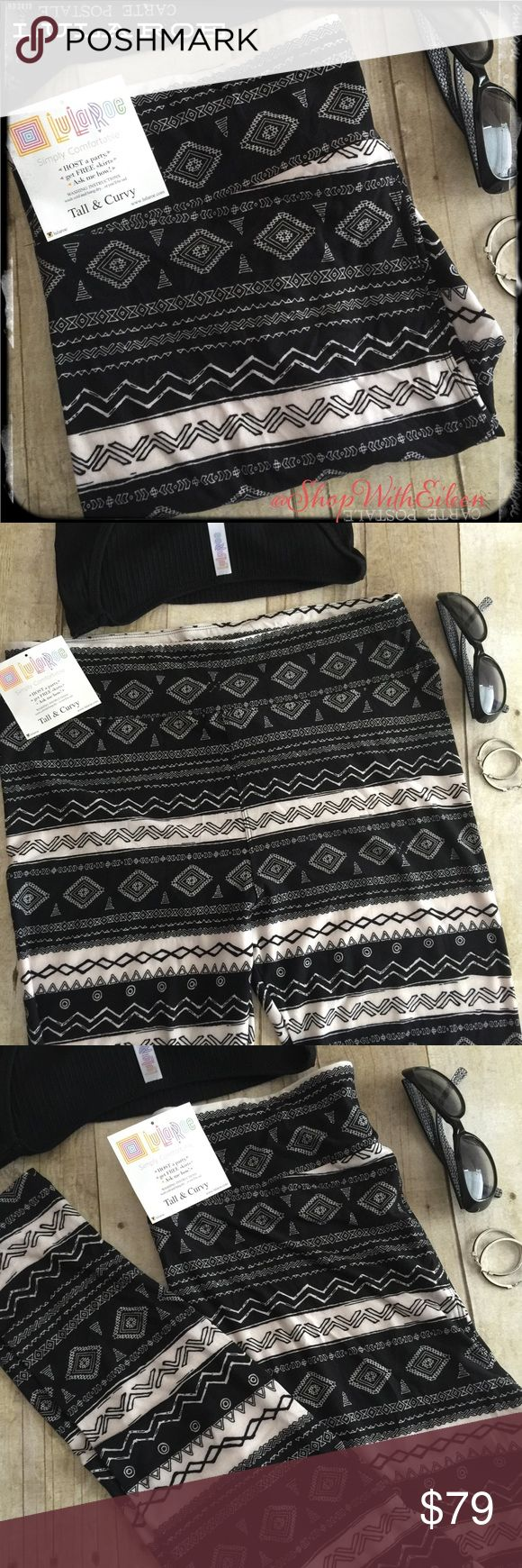 LulaRoe BLACK & WHITE AZTEC TC Leggings! ❤️  LulaRoe BLACK & WHITE AZTEC TC Leggings! Classy & Sassy! Black & White Aztec print make up these AHHMMAAZZIINGG leggings!!!! THESE LINE UP PERFECTLY! Very sought after NEW print & hard to find! Supply + DEMAND = Price These are made in Indonesia. * I am not a consultant… I am just a LulaRoe addict and love the hunt to find great prints! Enjoy!  {$25 is not an acceptable offer} LuLaRoe Pants Leggings