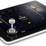 iPad Joystick Roundup.. Think Geek announced the iCADE concept as one of their annual April Fool's pranks. However the response was so astounding (and I imagine such a colossal letdown that it didn't actually exist) that Ion Audio, Think Geek, and Atari have teamed up to officially make this portable arcade cabinet a reality.