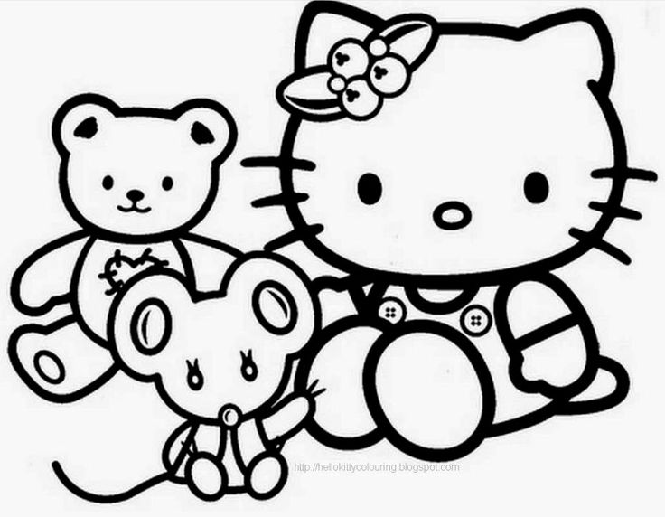 Hello Kitty Ninja Coloring Pages : Best images about coloring pages on pinterest