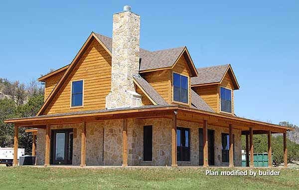 The 25 best house plans pictures ideas on pinterest for Metal house plans with wrap around porch