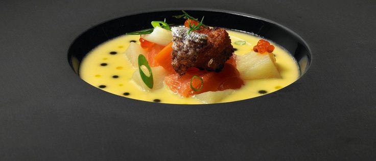 Лососевый суп