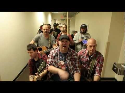 Funny cover of Justin Bieber's baby song by MercyMe with cameos from many other Christian artists.