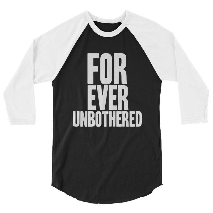 Forever Unbothered Raglan T-Shirt